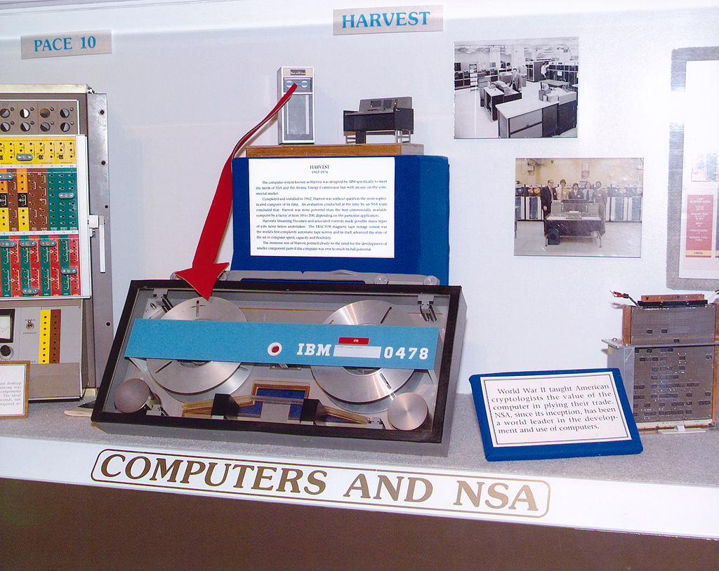 history of surveillance and cryptography