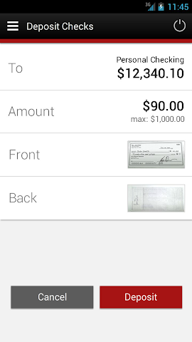 android BFCU Mobile Screenshot 4