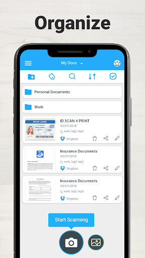 Scanner App To PDF - TapScanner 2.5.0 screenshots 3