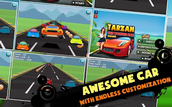 Tarzan The Wonder Car Racing APK Latest Version Download