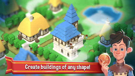 Crafty Town – Merge City Kingdom Builder Mod Apk Download For Android and Iphone 2