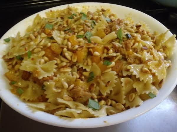 Farfalle With Sausage & Butternut Squash Recipe