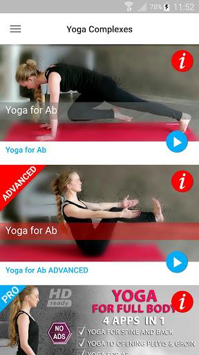 Daily Yoga Poses & Asanas for Ab & Slim Waist screenshots 2