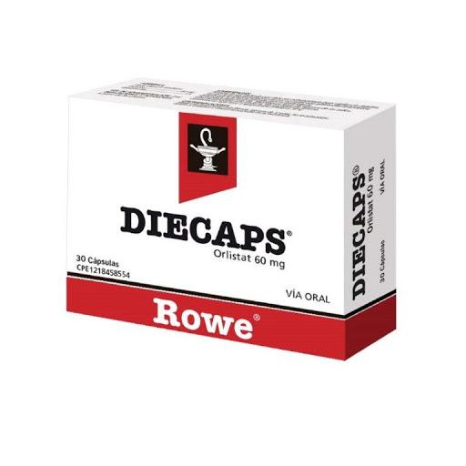Orlistat Diecaps 60 mg x 30 Cápsulas Rowe 60 mg x 30 Cápsulas
