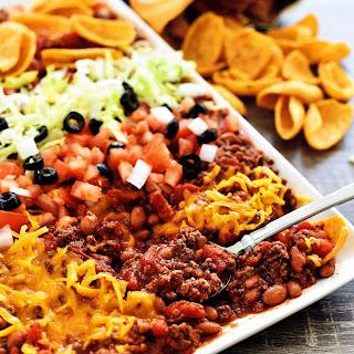Texas Taco Dip Recipe