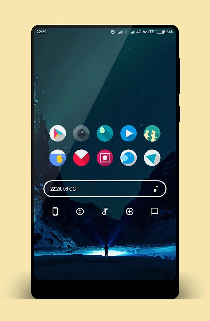 LetItBeO - Pixel 2 Minimalist Icon Pack (SALE) Screenshot 4