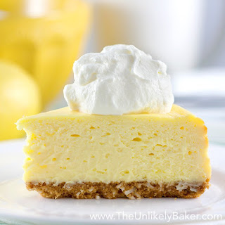 The Best Lemon Cheesecake. Ever.