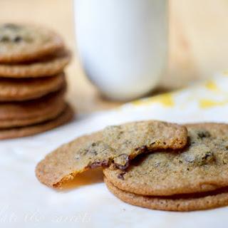 Whole Wheat Chocolate Chunk Cookies.