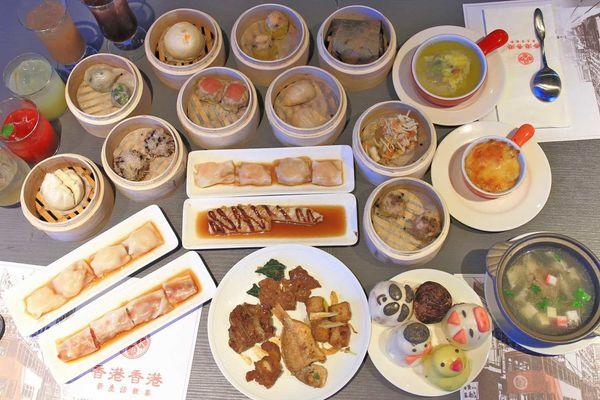 香港香港新生活飲茶-首創手搖特調飲茶與港式料理吃到飽