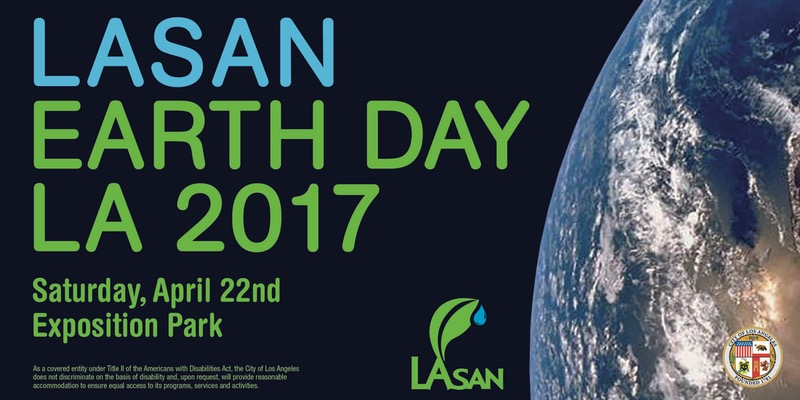 11 Free Earth Day Events in Los Angeles #EarthDayLA - Lasan Earth Day at Exposition Park