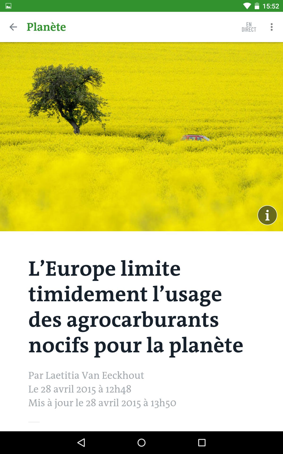Le Monde, l'info en continu screenshot #18