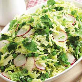 Pea and Cabbage Coleslaw