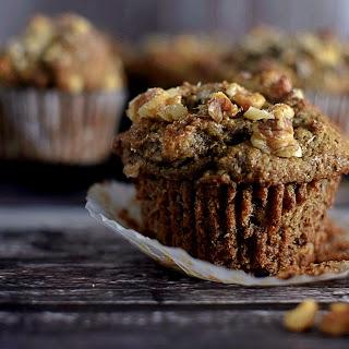 Cardamom Banana Nut Muffin