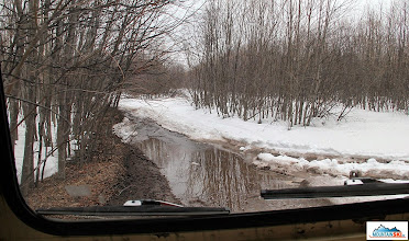 Photo: Suchaja recka / Dry river - the road to volcanos Avachinsky & Koryaksky
