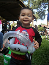 Photo: Little Boys love balloon characters and props by Heidi, La Verne888-750-7024
