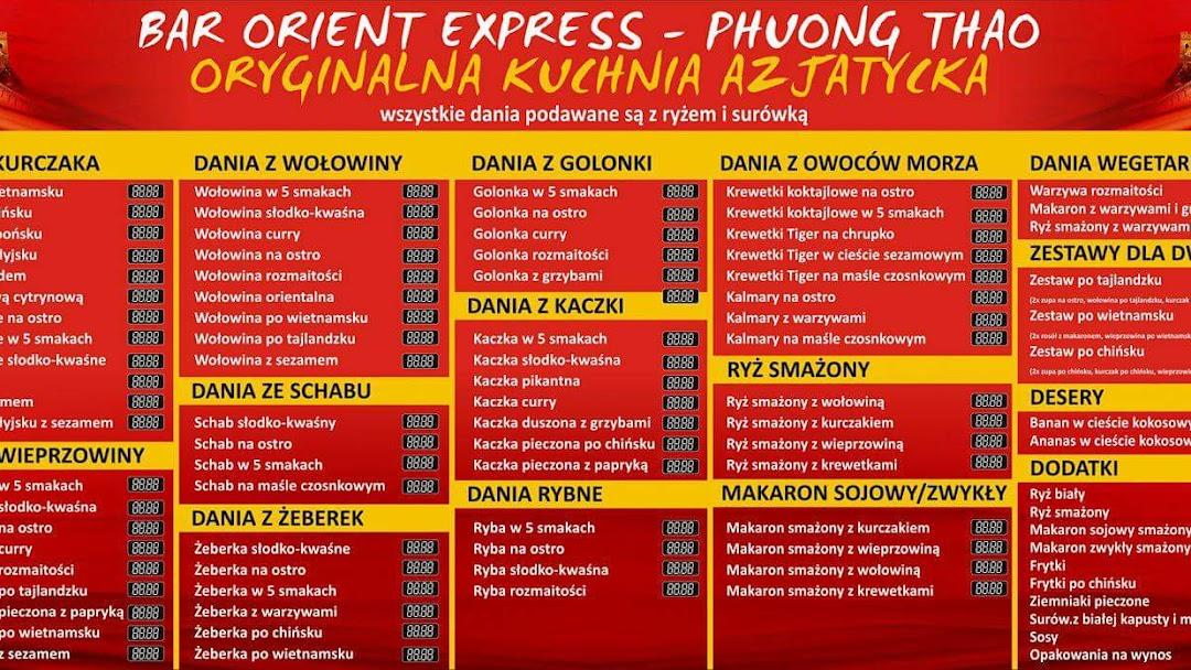 Bar Orient Express Phuong Thao Kuchnia Wietnam W Kutno