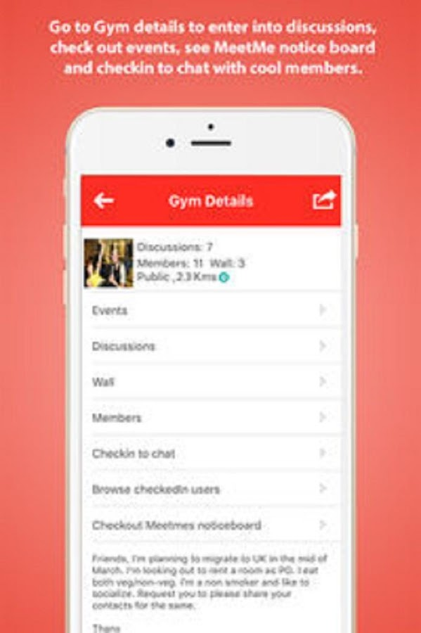 GymSocial - Date Fit & Sexy Girls & Guys- screenshot