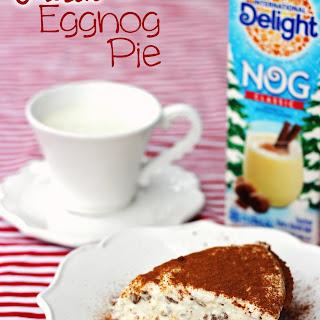 Quick and Easy Frozen Eggnog Pie