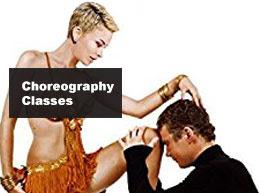 Hot Latin Salsa choreography