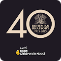 Queen 40 yrs Bohemian Rhapsody icon