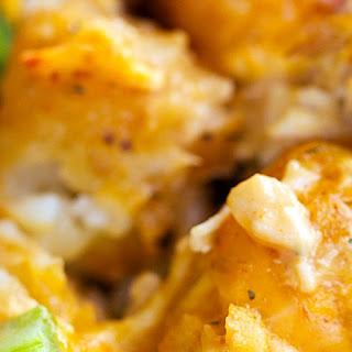 Buffalo Chicken Tater Tot Casserole Recipe