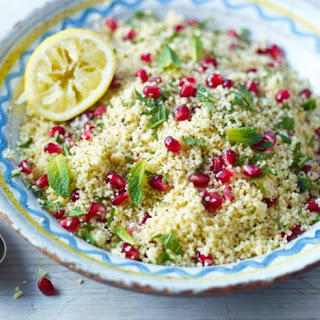 Lemon And Pomegranate Couscous.