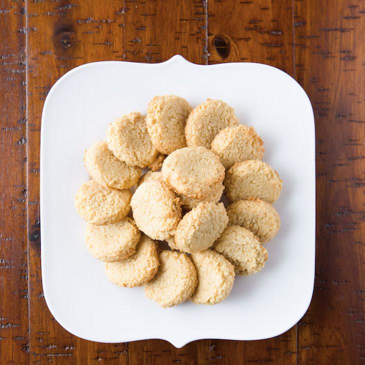 Paleo Almond Cookies Recipe (aka The World's Easiest Cookies.)