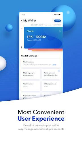 TronLink Pro - The Best TRON Wallet  screenshots 4