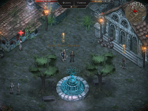 Vampire's Fall: Origins RPG screenshots 13