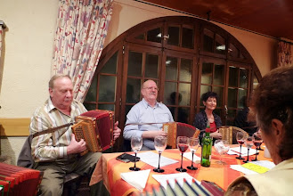 Photo: Traditionsgemäss wird die GV mit Musik eröffnet.