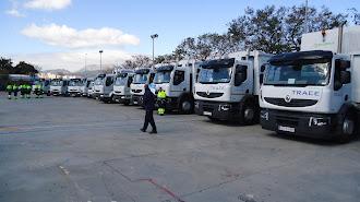 Almería dispone de una potente flota de más de 8.000 camiones
