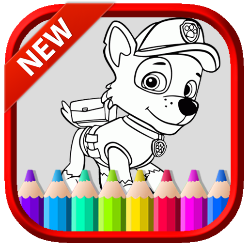 Art PAW Coloring Book Patrol and Friends (game)