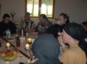 Photo: Frühstück der Cazadora-Crew.