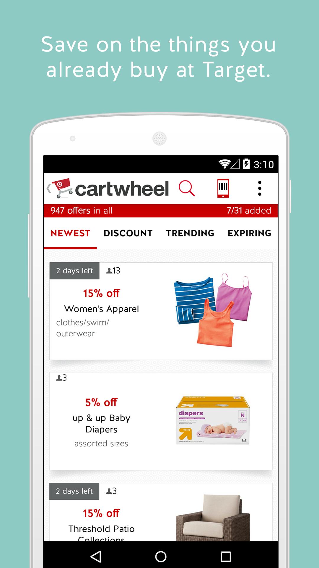 Cartwheel by Target screenshot #9
