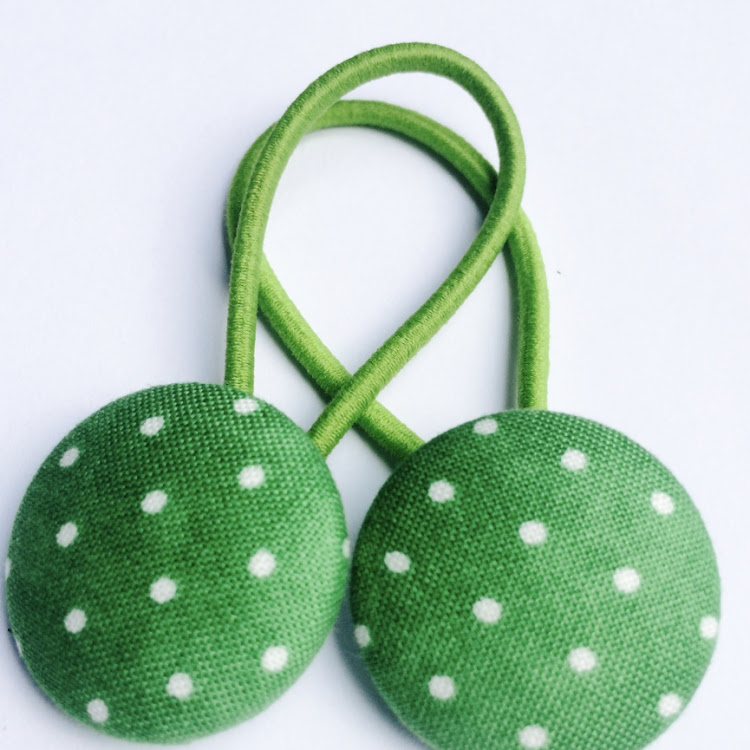 Lime Green Polka - Medium by Emma5