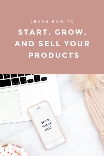 Products Phone Mockup - Pinterest Pin Template