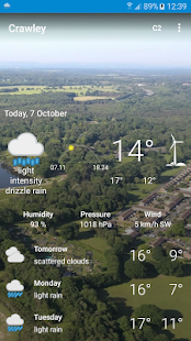 Crawley, West Sussex - Weather - náhled
