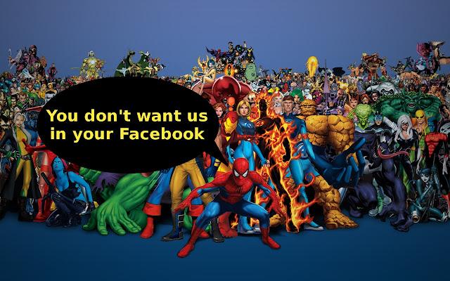 Marvel-DC Blocker