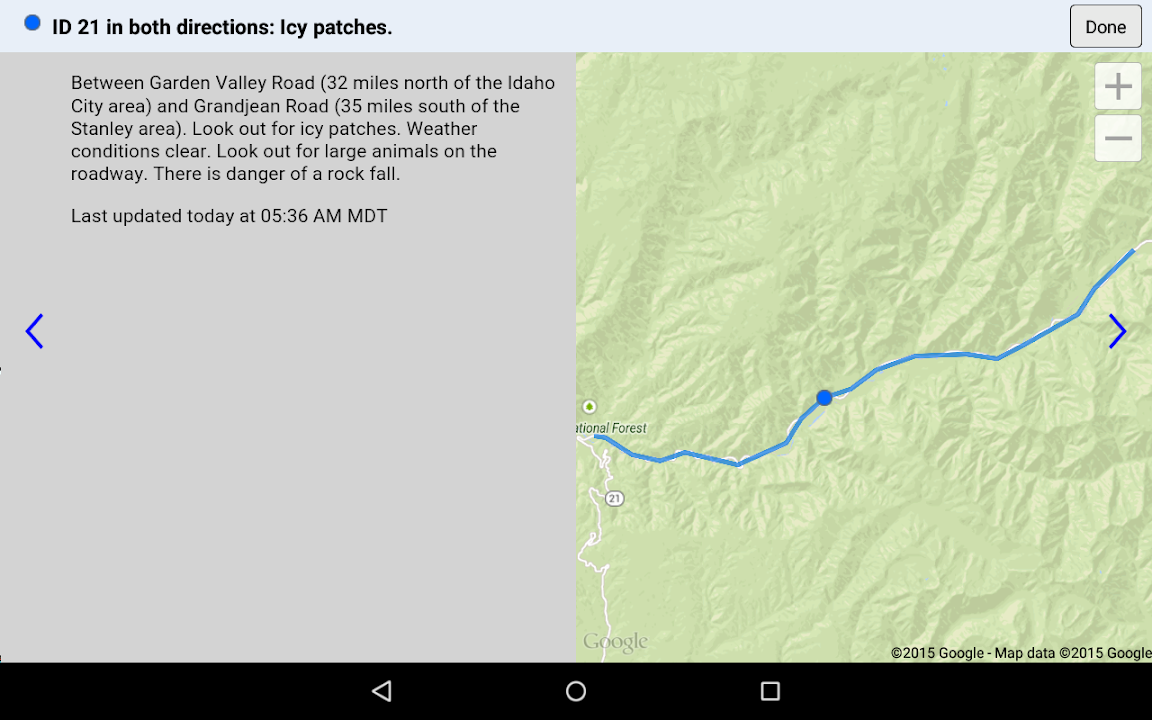 idaho road condition map Download Idaho 511 Free For Android Idaho 511 Apk Download idaho road condition map