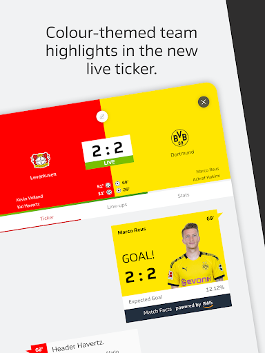BUNDESLIGA - Official App 3.9.1 screenshots 21