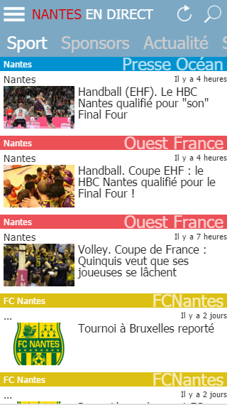 Nantes en Direct- screenshot