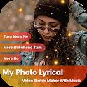 My Photo Lyrical Video Status Maker : Bit Master icon