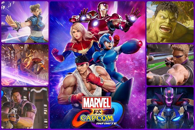 [Marvel VS Capcom: Infinite] ปล่อยเทลเลอร์ซิเนมาติคสตอรี่ เพิ่มตัวละครใหม่ 8 คน!