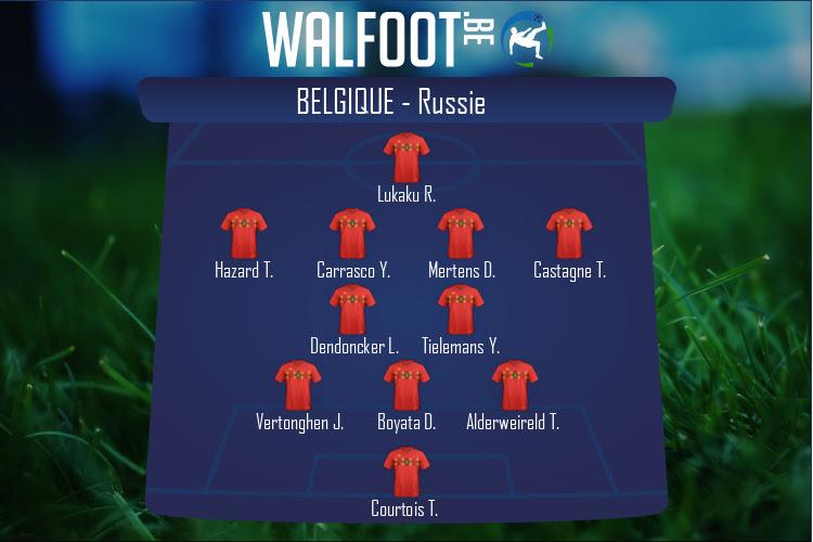 Belgique (Belgique - Russie)