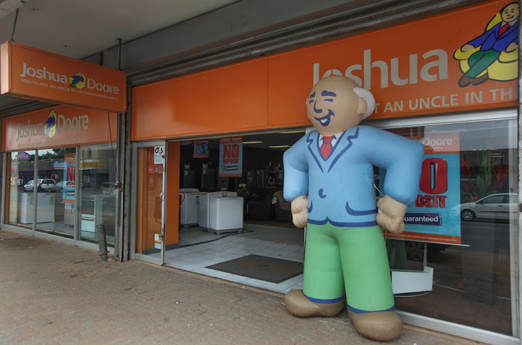 FILE PHOTO: The Joshua Doore shop on Victoria Street in Germiston's CBD. Joshua Doore forms part of the JD Group, which is under Steinhoff International's control.