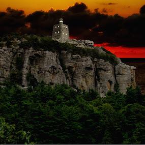 My Rock by Jeff Dalton - Landscapes Mountains & Hills