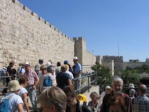 Photo: Jérusalem : fortifications de la vieille ville