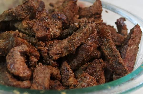Taco Beef Strips Recipe