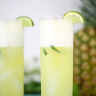 Pineapple & Lime Coconut Water Recipe Recipe