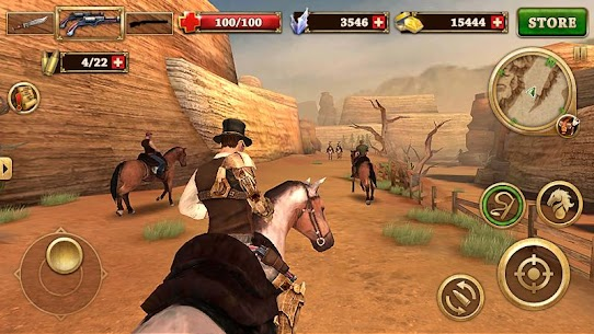 Pistoleiro do Oeste – West Gunfighter [Mod Money] 7